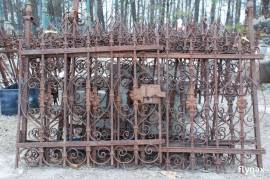 WROUGHT IRON FORGED GATE FENCE ORNAMENT