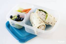 EasyLunchboxes 3-compartment